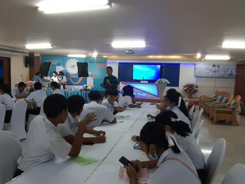 วันที่ 12-13 สิงหาคม 2563 วิทยาลัยการอาชีพกระบุรี ดำเนินโครงการศ
